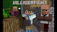 Villager Fight Map for Minecraft Logo