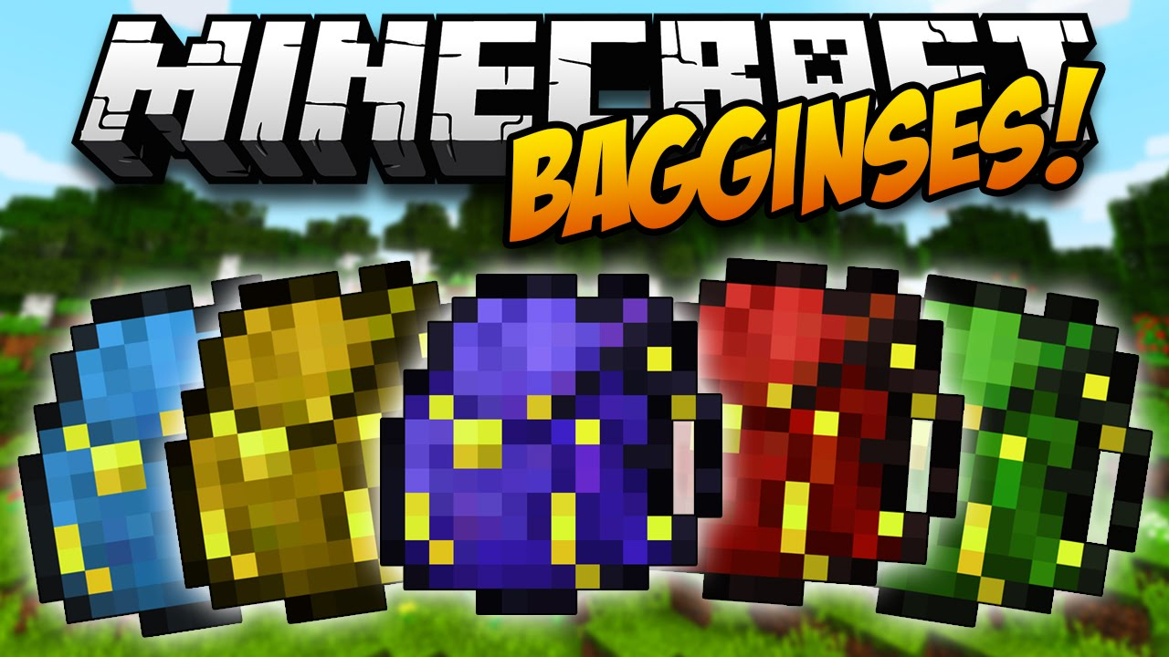Minecraft Bagginses Mod 1.10.2/1.7.10 Download