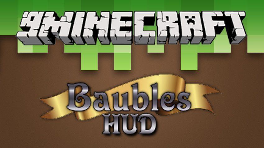BaublesHud Mod 1.11.2/1.10.2