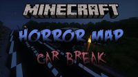 Car Break Map for Minecraft Logo