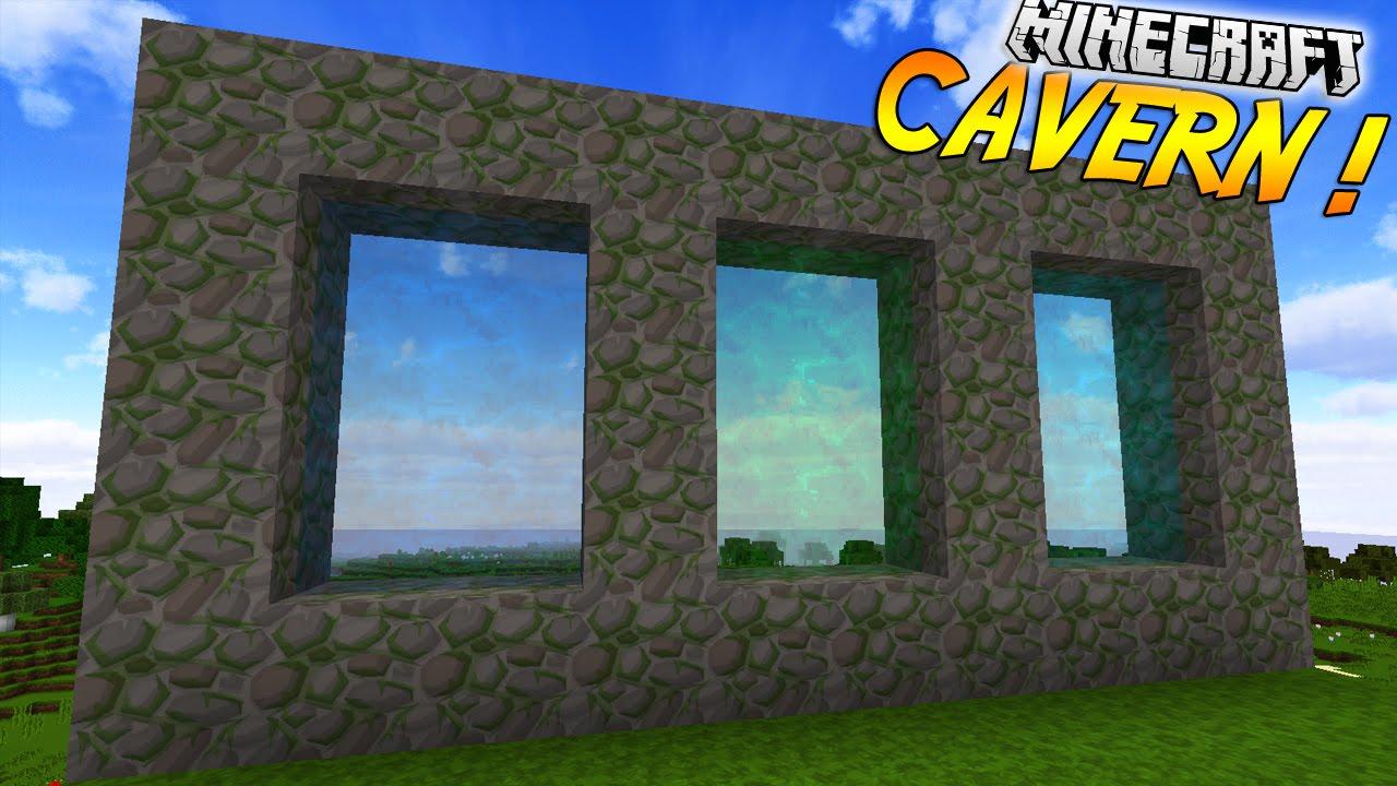 Cavern Mod 1.11.2/1.10.2