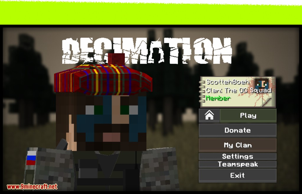 Decimation Overgrown Realistic Zombie Apocalypse Mod Screenshots 1