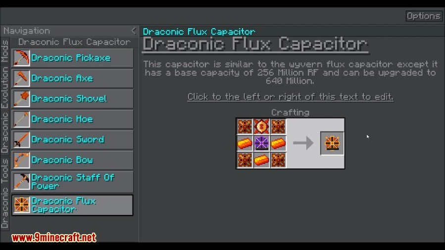 Draconic Evolution Mod Crafting Recipes 7