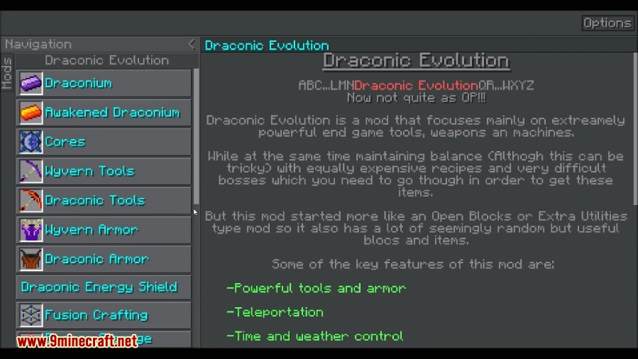 Draconic Evolution Mod Screenshots 1