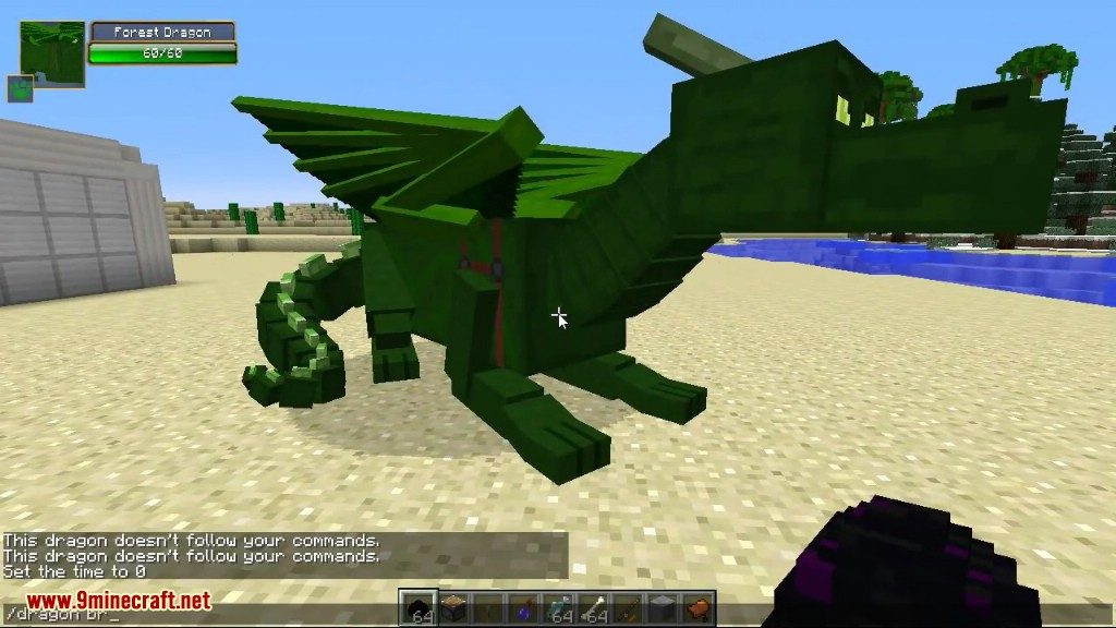Скачать Мод Dragon Mounts - фото 2