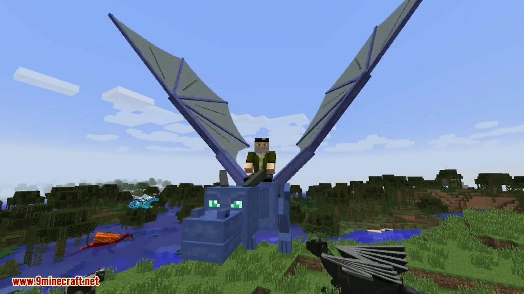 Dragon Mounts Мод для Майнкрафт 1.5.2 - Скачать Моды для ...