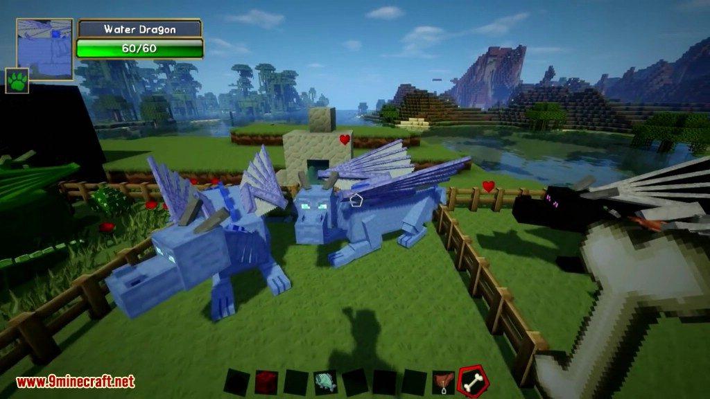 Dragon Mounts Mod 1 10 2/1 7 10 (Ride, Tame Dragons