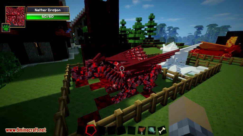 Мод Dragon Mounts для Minecraft 1.7.2/1.6.4/1.6.2/1.5.2 ...