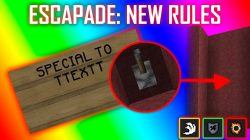 Escapade New Rules Map for Minecraft Logo