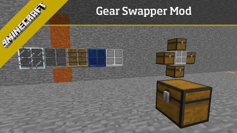 Gear Swapper Mod 1.11.2/1.10.2