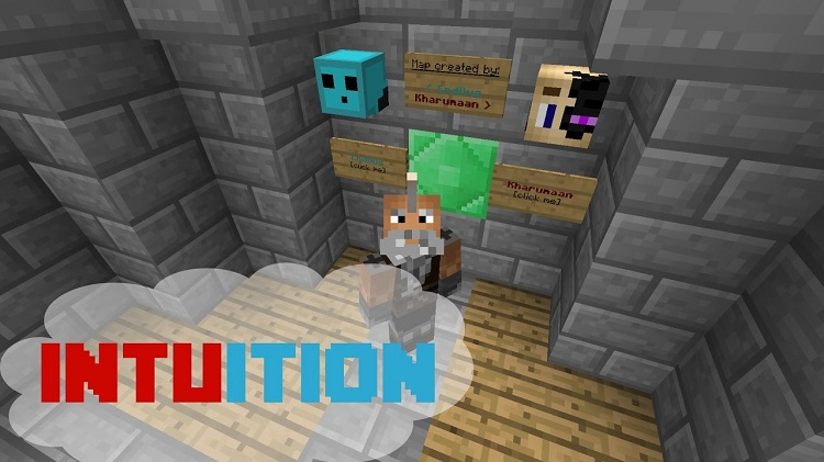 Intuition Puzzle Map for Minecraft Logo