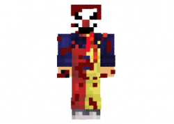 killer-clown-skin
