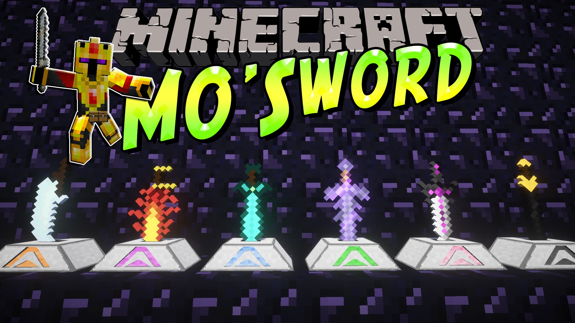 Mo'Swords Mod 1 12 2/1 10 2 (So Many Epic Swords) - 9Minecraft Net
