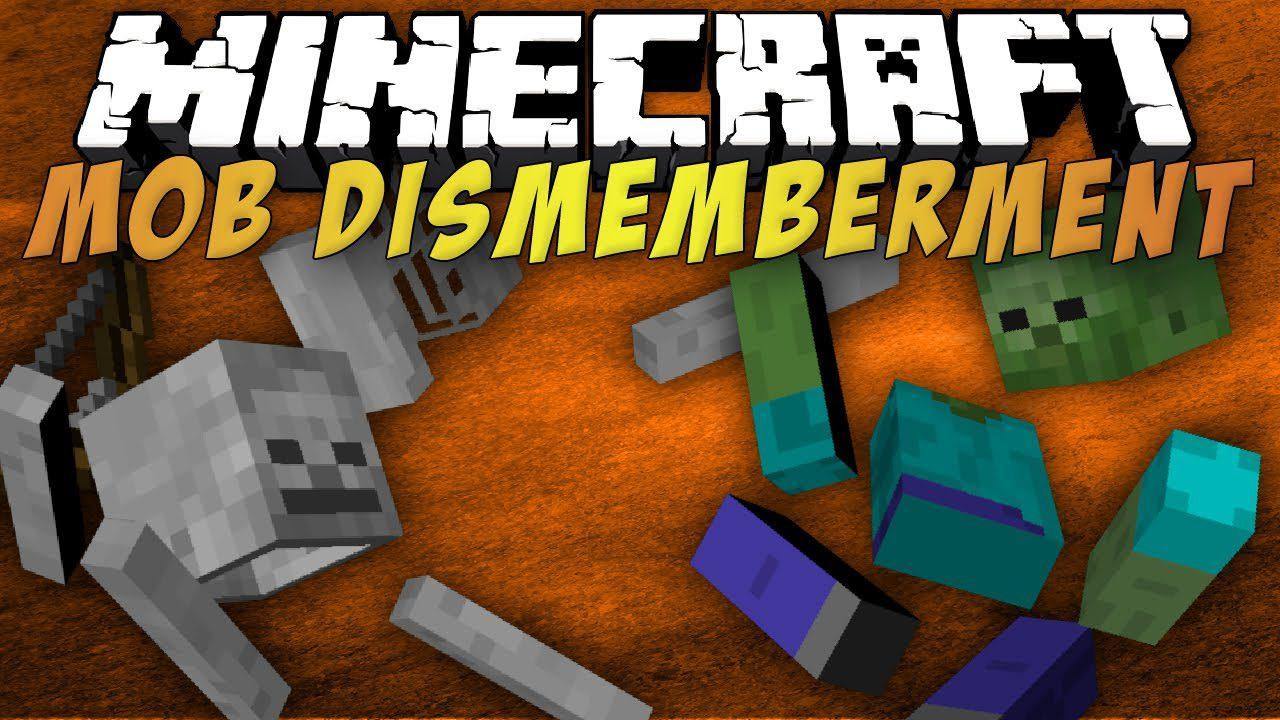 Mob Dismemberment Mod
