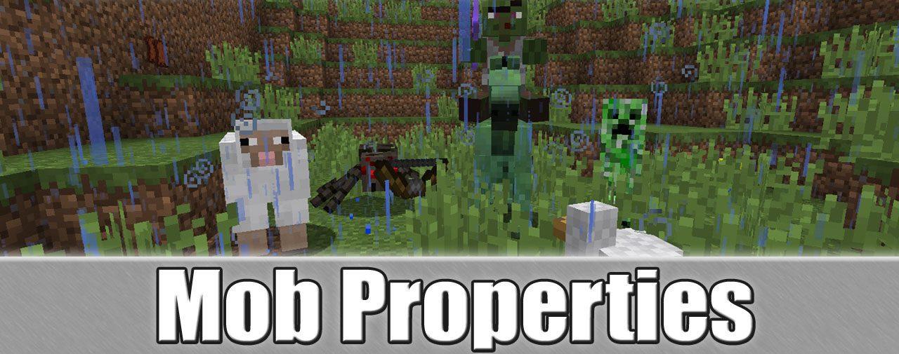 Mob Properties Mod
