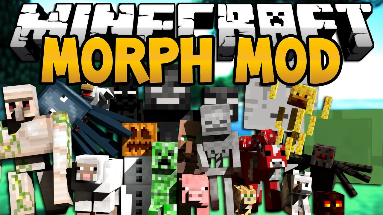 Morphing Mod 1 12 2/1 7 10 (Morph Into Any Mob Ever) 9Minecraft Net