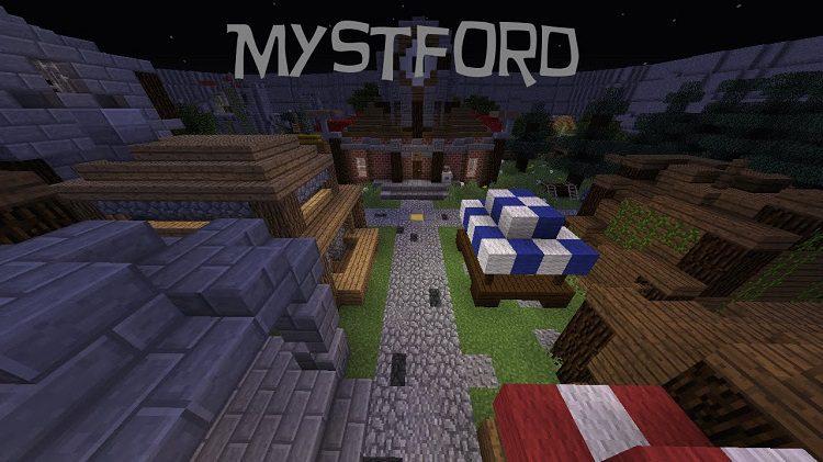 Mystford Adventure Map for Minecraft Logo