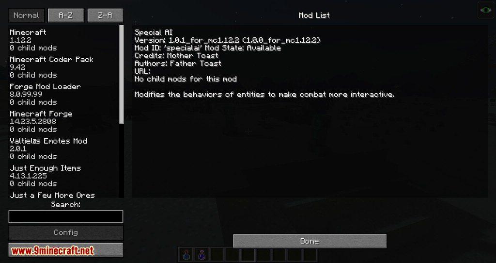 Special AI mod for minecraft 04
