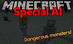 Special AI mod for minecraft logo