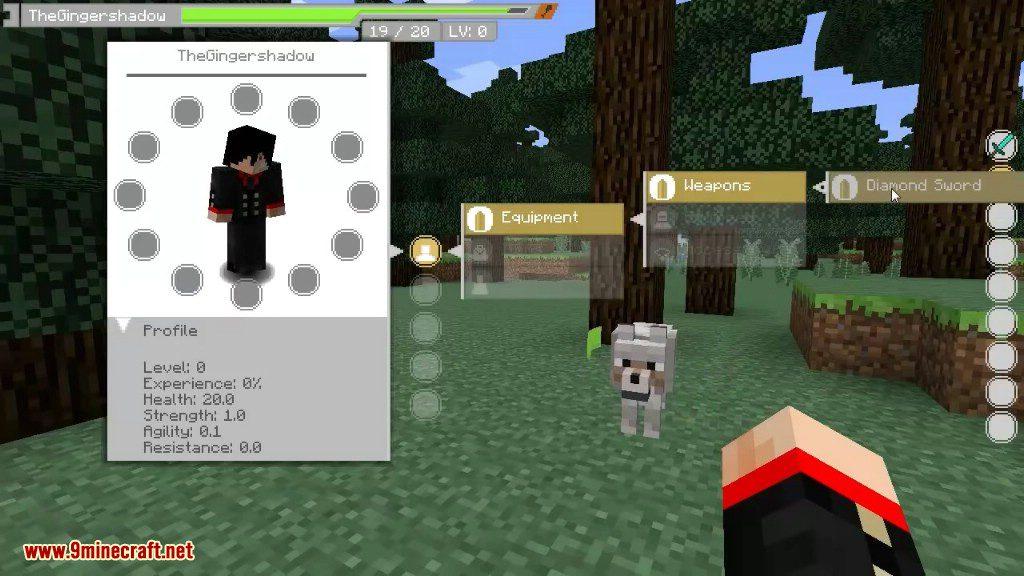 Sword Art Online UI Mod Screenshots 1