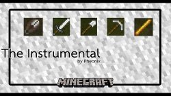 The Instrumental Map for Minecraft Logo