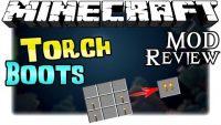 Torch Boots Mod