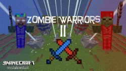 zombie-warriors-2-map-for-minecraft-logo