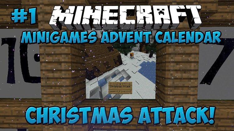 advent-calendar-minigame-map-1-11-for-minecraft-logo