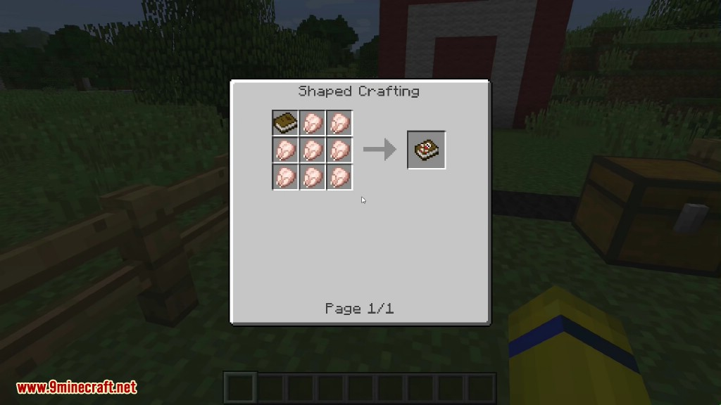 BasseBombeCraft Mod Crafting Recipes 1