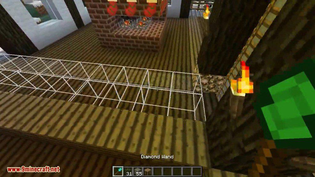 minecraft diamond wand