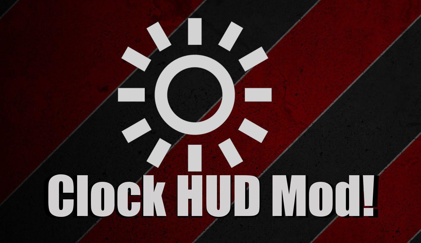 Clock HUD Mod