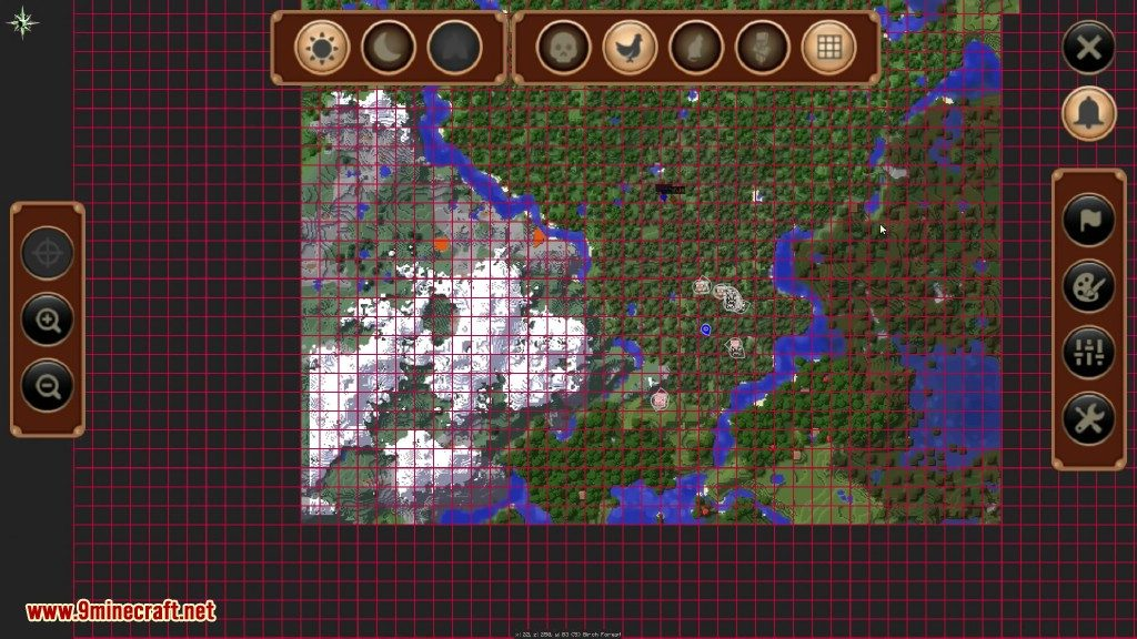JourneyMap Mod 1 12 2/1 11 2 (Real Time Mapping