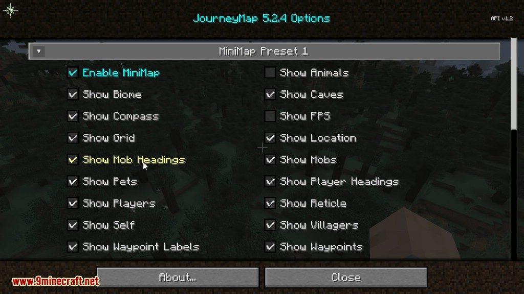 JourneyMap Mod Screenshots 4
