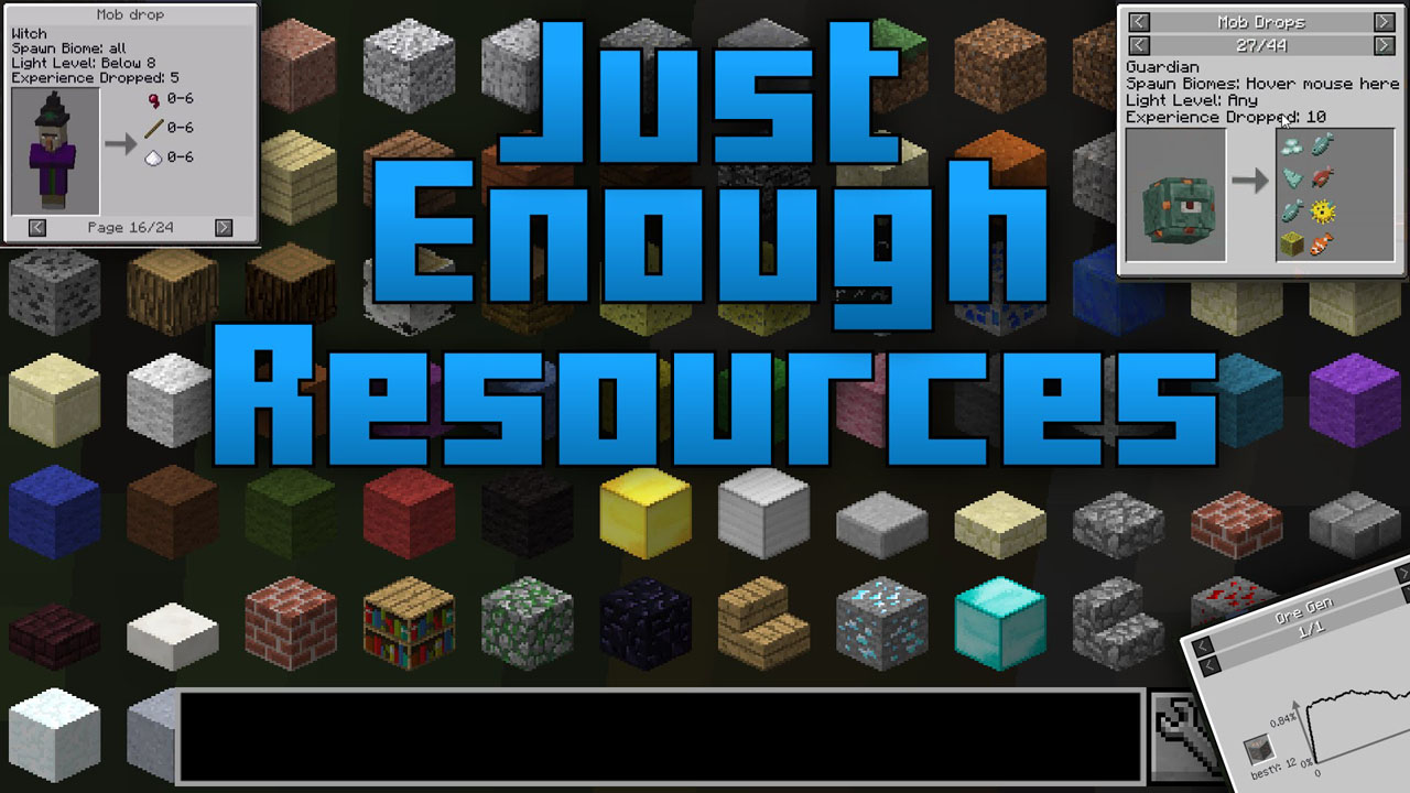 Just Enough Resources Mod