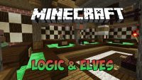 logic-and-elves-minigame-map-1-11-for-minecraft-logo