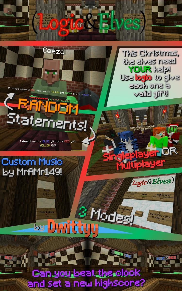 Logic and Elves Minigame Map Screenshots 1