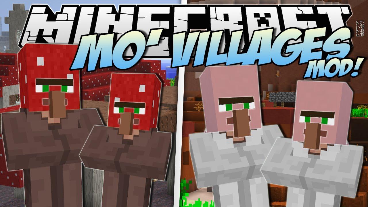 Mo' Villages Mod