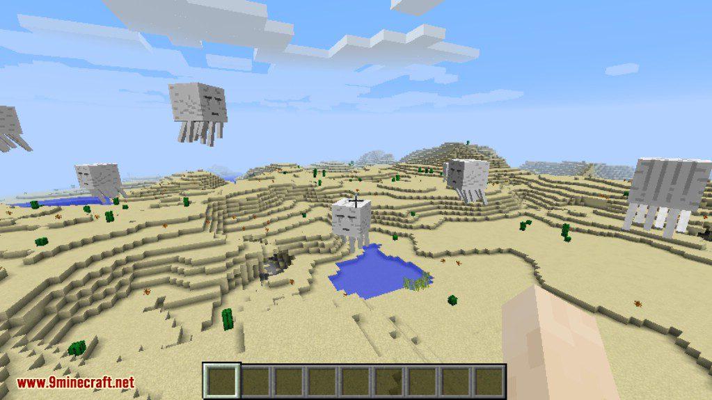 No Mob Spawning on Trees Mod Screenshots 1