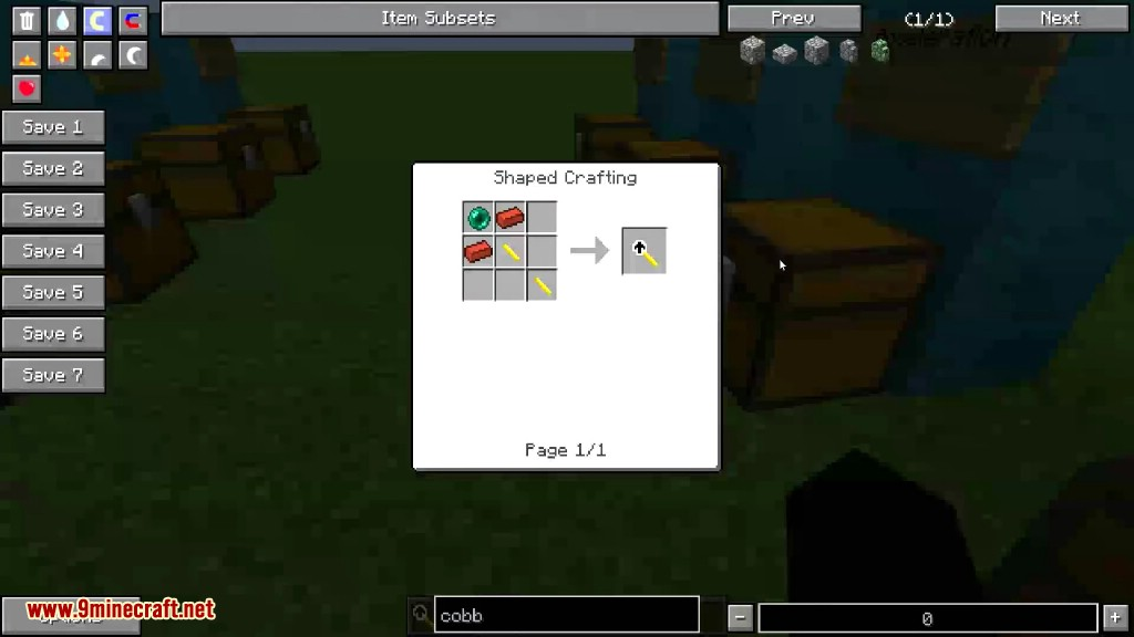 Not Enough Wands Mod Crafting Recipes 8
