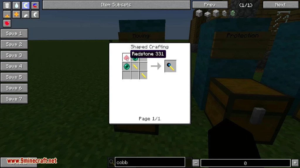 Not Enough Wands Mod Crafting Recipes 9