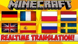 Real Time Chat Translation Mod