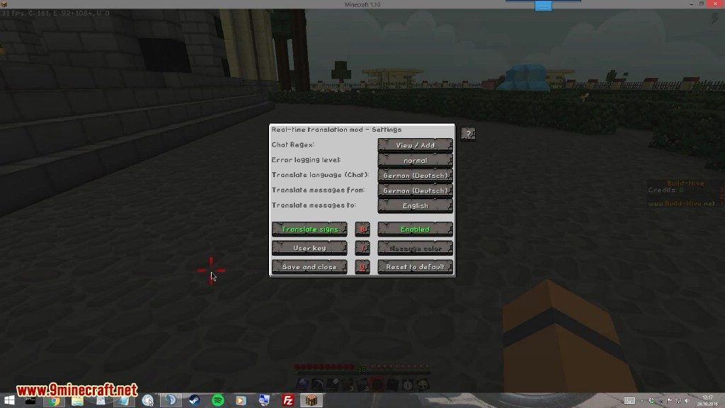 Real Time Chat Translation Mod Screenshots 1