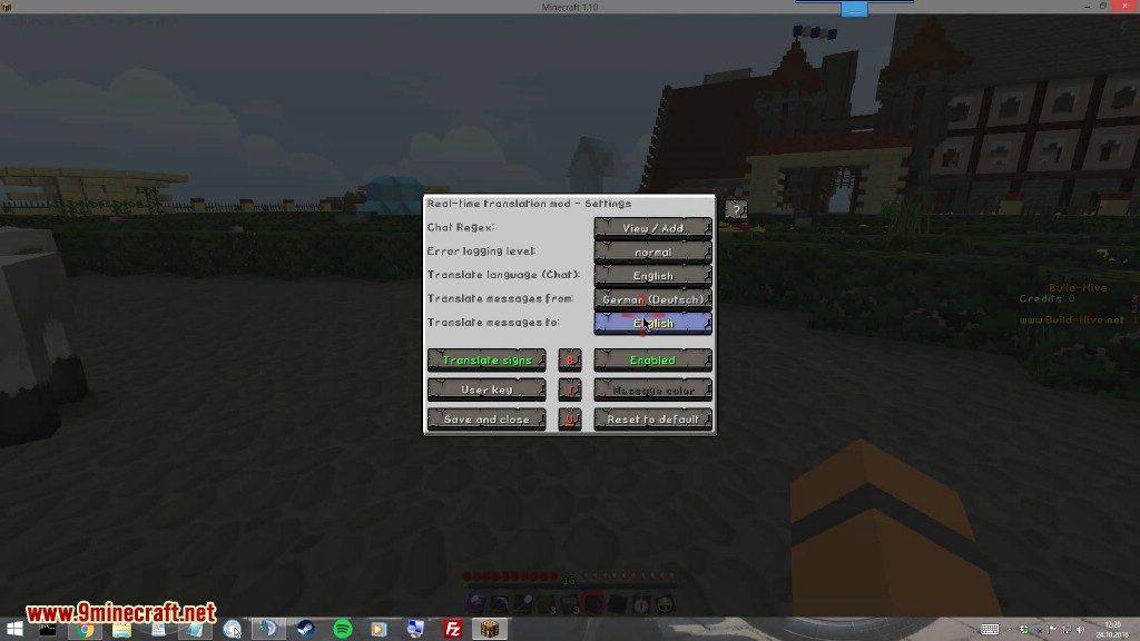 Real Time Chat Translation Mod Screenshots 5