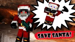 save-santa-saving-christmas-map-for-minecraft-logo