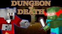 the-dungeon-of-death-adventure-map-1-11-for-minecraft-logo