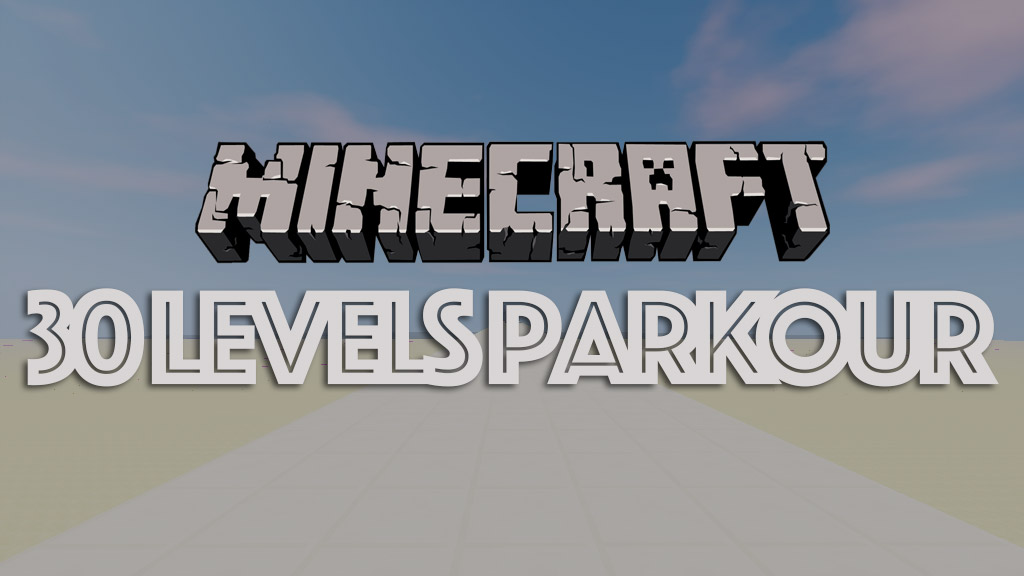 30 Levels Parkour Map 1.12.2/1.11.2 for Minecraft