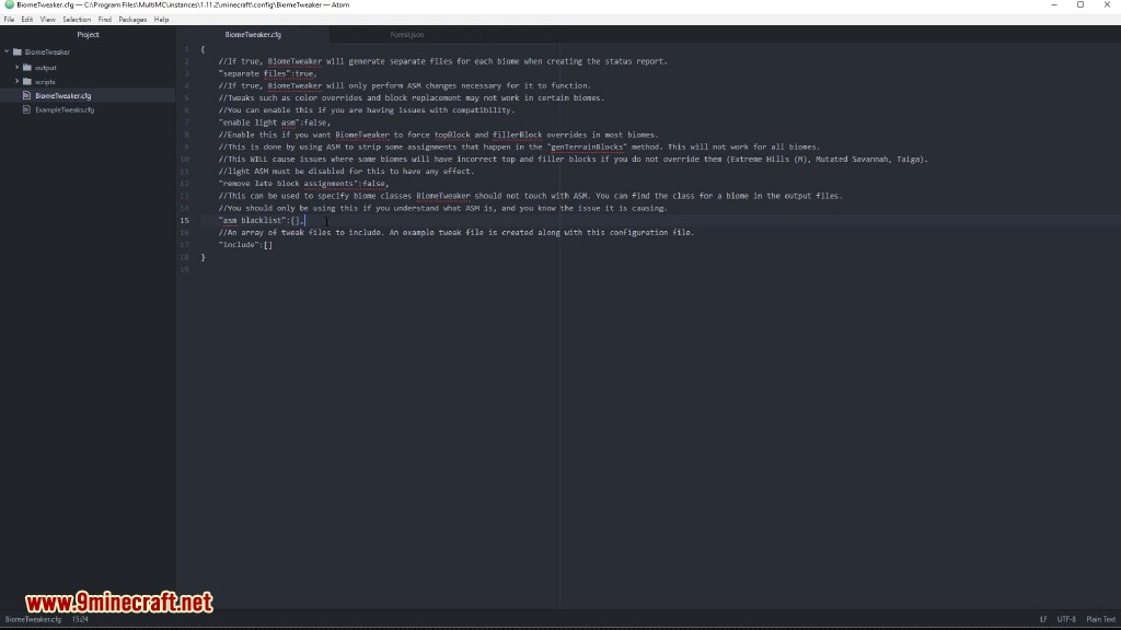 BiomeTweaker Mod Screenshots 3