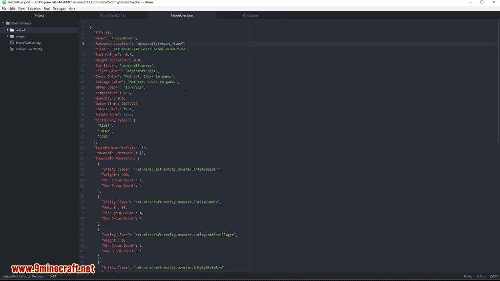 BiomeTweaker Mod Screenshots 5
