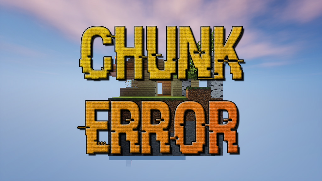 Chunk Error Map 1.12.2/1.11.2 for Minecraft