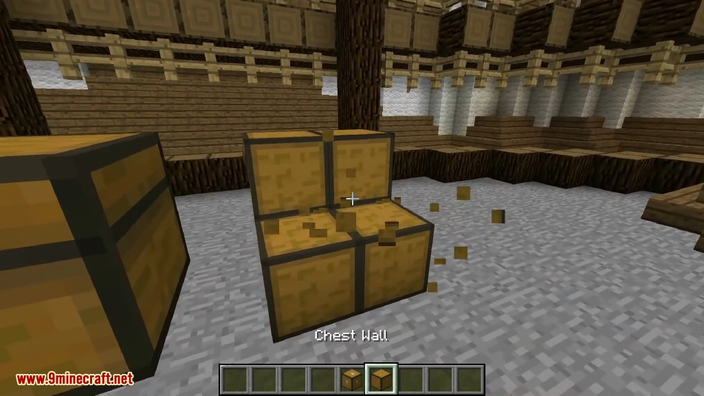how to open chest in minecraft mac
